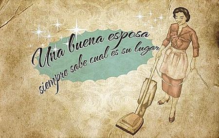 Guía de la buena esposa, cartel final