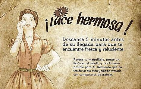 Guía de la buena esposa, cartel n°2