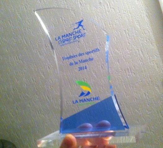 Le Trophée de Axel Billard!
