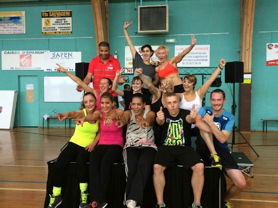 Les profs avec Vlada - St Marcel 2014