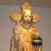 Statue des Salvator Mundi im Kath. Stadthaus
