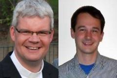 Die Neuen: Pastor Christian Schulte, Pastoralassistent Constantin Rhode