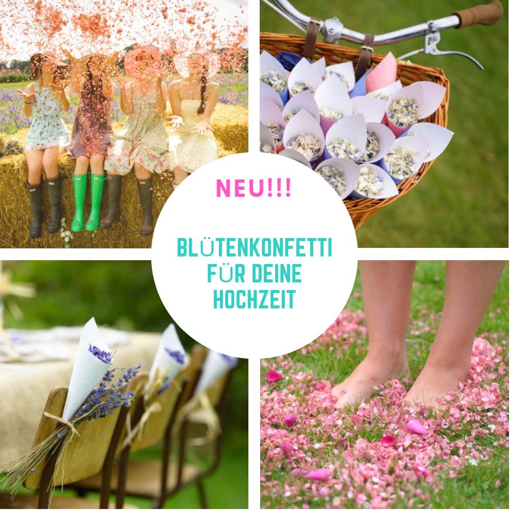 Blütenkonfetti für deine Hochzeit