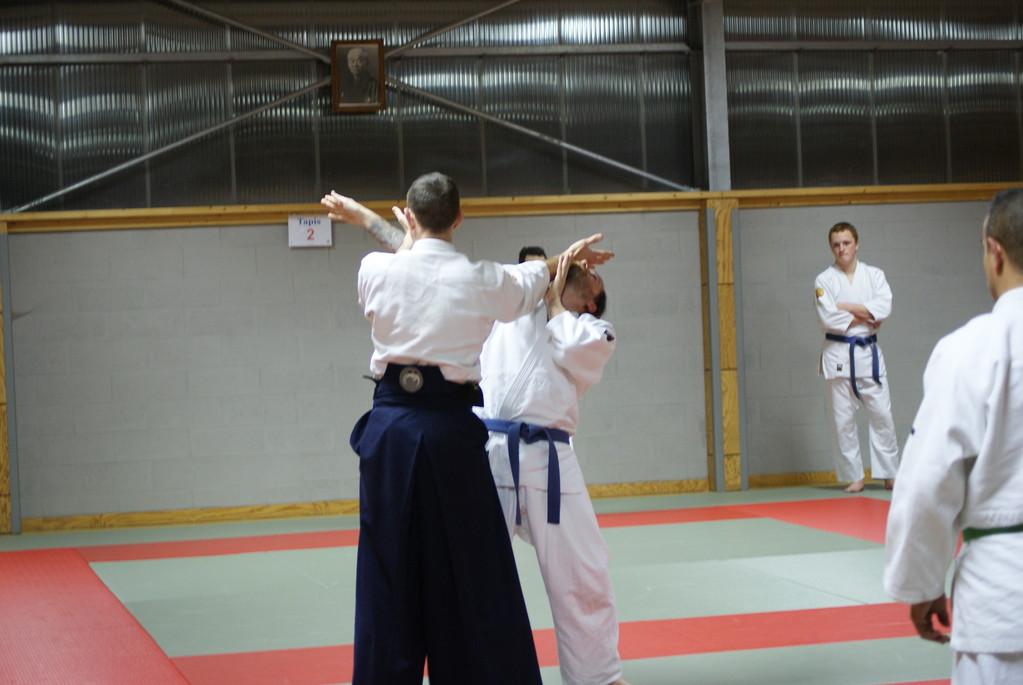 Nouvelle technique 1 Shiho Nage