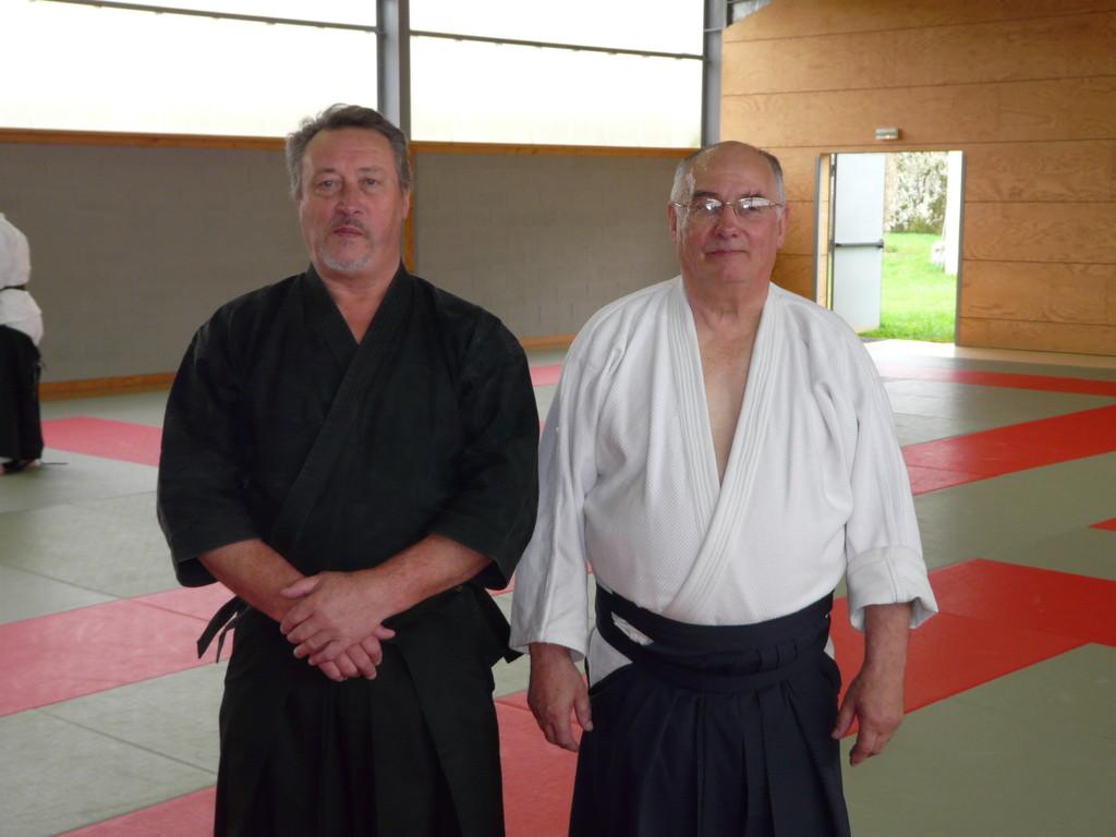 Jean-Pierre Le PIERRES et Christian BOUCHE-PILLON