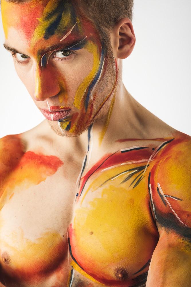Portraitshooting, Bodypainting - Fotostudio Roman Pfeiffer, Wien