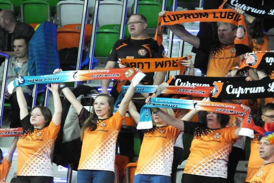 Cuprum Lubin - Indykpol AZS Olsztyn, 14. kolejka, blog (14.12.2016)