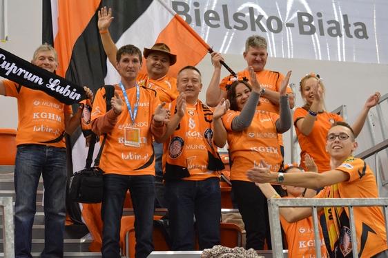 BBTS Bielsko-Biała - Cuprum Lubin, 1. kolejka (19.10.2016)