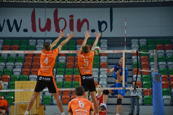DLJ: Cuprum Lubin - Ikar Legnica (12.10.2016)