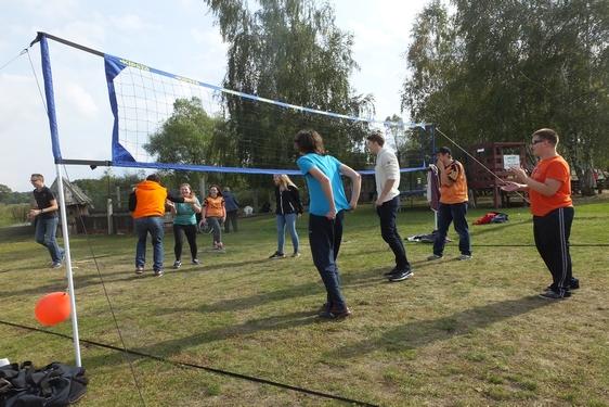 """Piknik integracyjny, """"Osada danieli"""" Zamienice, blog, (24.09.2016)"""