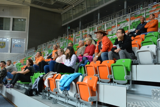 Cuprum Lubin - VK Dukla Liberec (Czechy), sparing (12.10.2016)