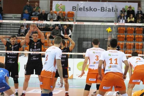 BBTS Bielsko-Biała - Cuprum Lubin, 1. kolejka, blog, (19.10.2016)