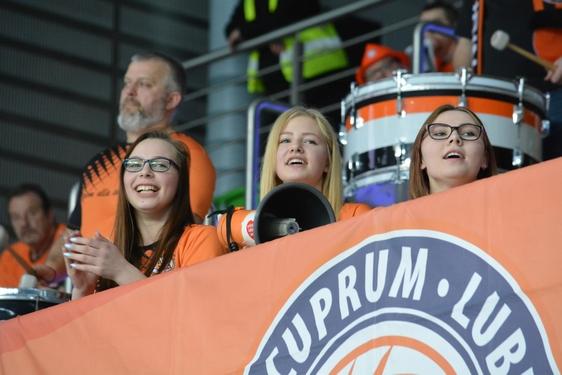 Cuprum Lubin - Łuczniczka Bydgoszcz (fot. Robert Szafrański), 28. kolejka 2017/2018 (29.03.2018)
