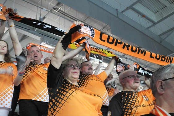 Cuprum Lubin - Lotos Trefl Gdańsk, 23. kolejka, blog (22.02.2017)