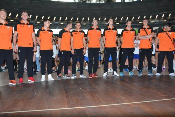 Prezentacja KS Cuprum Lubin w galerii Cuprum Arena (09.09.2017)