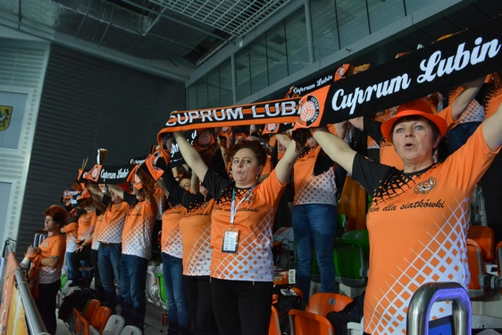 Cuprum Lubin - Onico Warszawa, 14. kolejka 2017/2018 (20.12.2017)