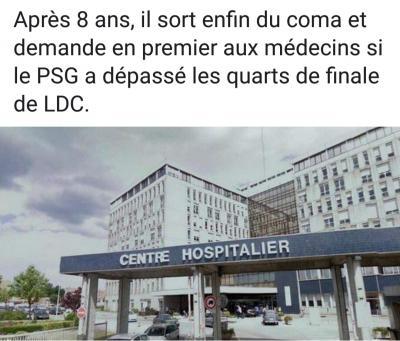 Le PSG ému...