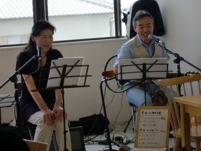 「江口珈琲店」ふれあいコンサート(24.7.15)