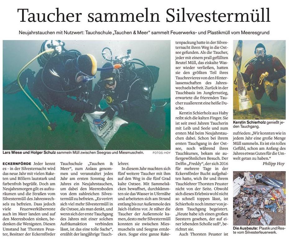 Quelle: Eckernförder Zeitung I Philipp Hoy I 01.10.2018