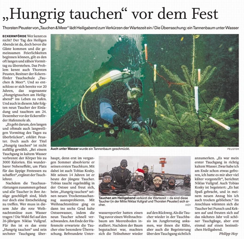Quelle: Eckernförder Zeitung I Philipp Hoy I 27.12.2017