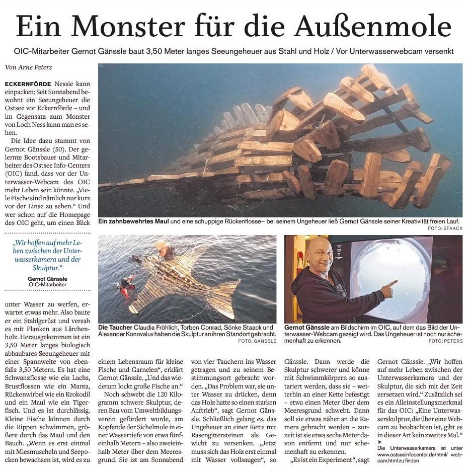 Quelle: Eckernförder Zeitung I Arne Peters I 22.01.2019