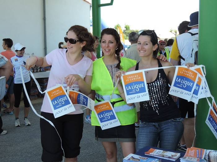 La Ligue contre le cancer, toujours présente pour l'Oléronaise !