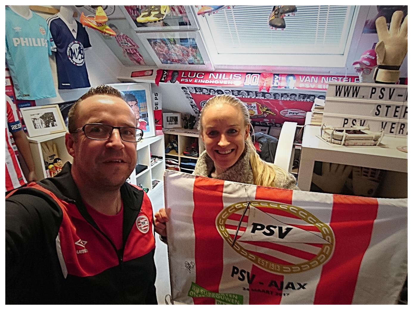PSV speelster Kirsten Koopmans bezoekt mijn museum