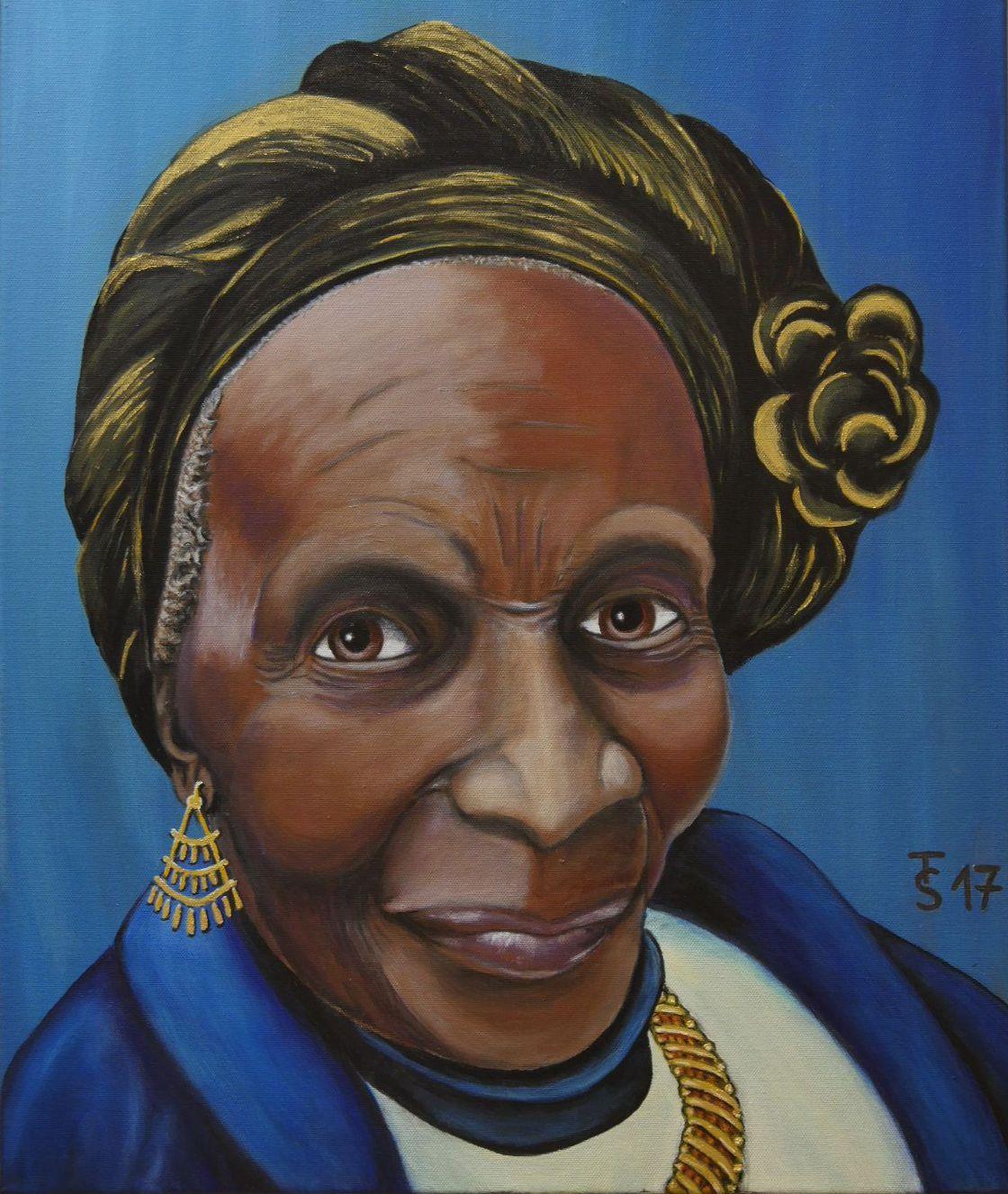 Mama Susie  _  (Acryl auf Leinwand, 50 x 60 cm)