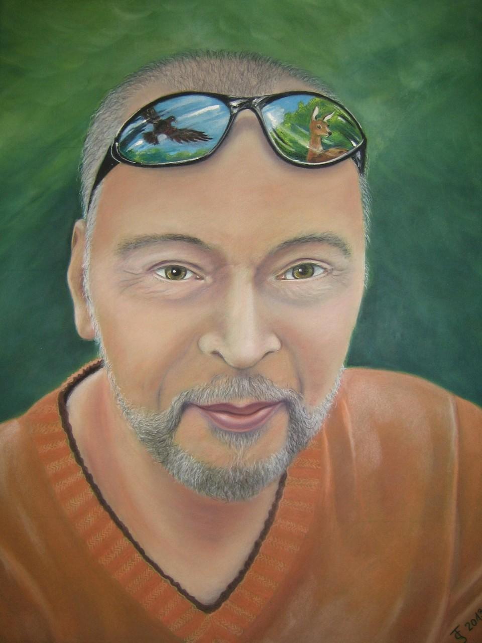 Manfred  _ (Pastellkreide, 50 x 65 cm)