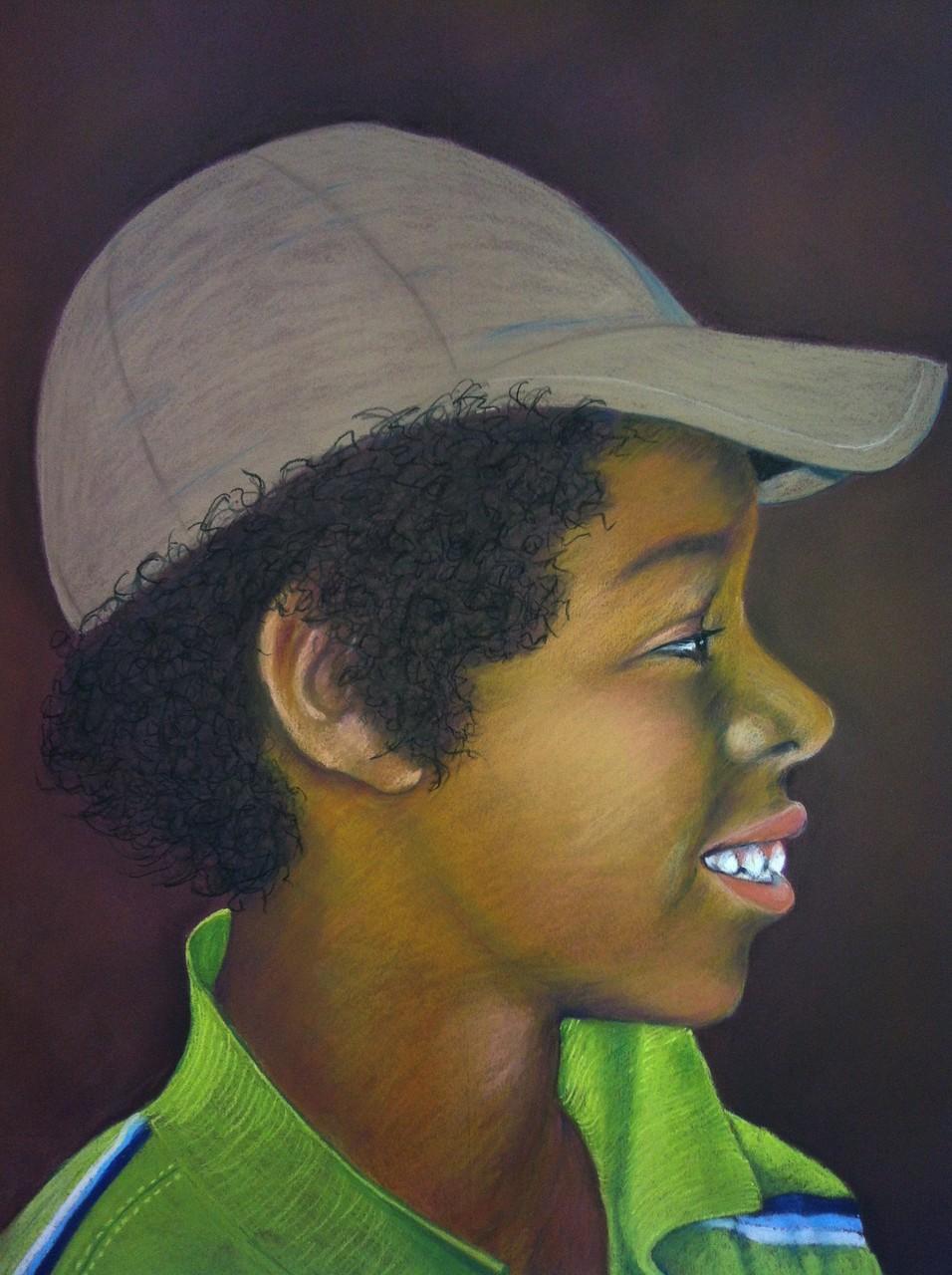 David  _   (Pastellkreide, 50 x 65 cm)