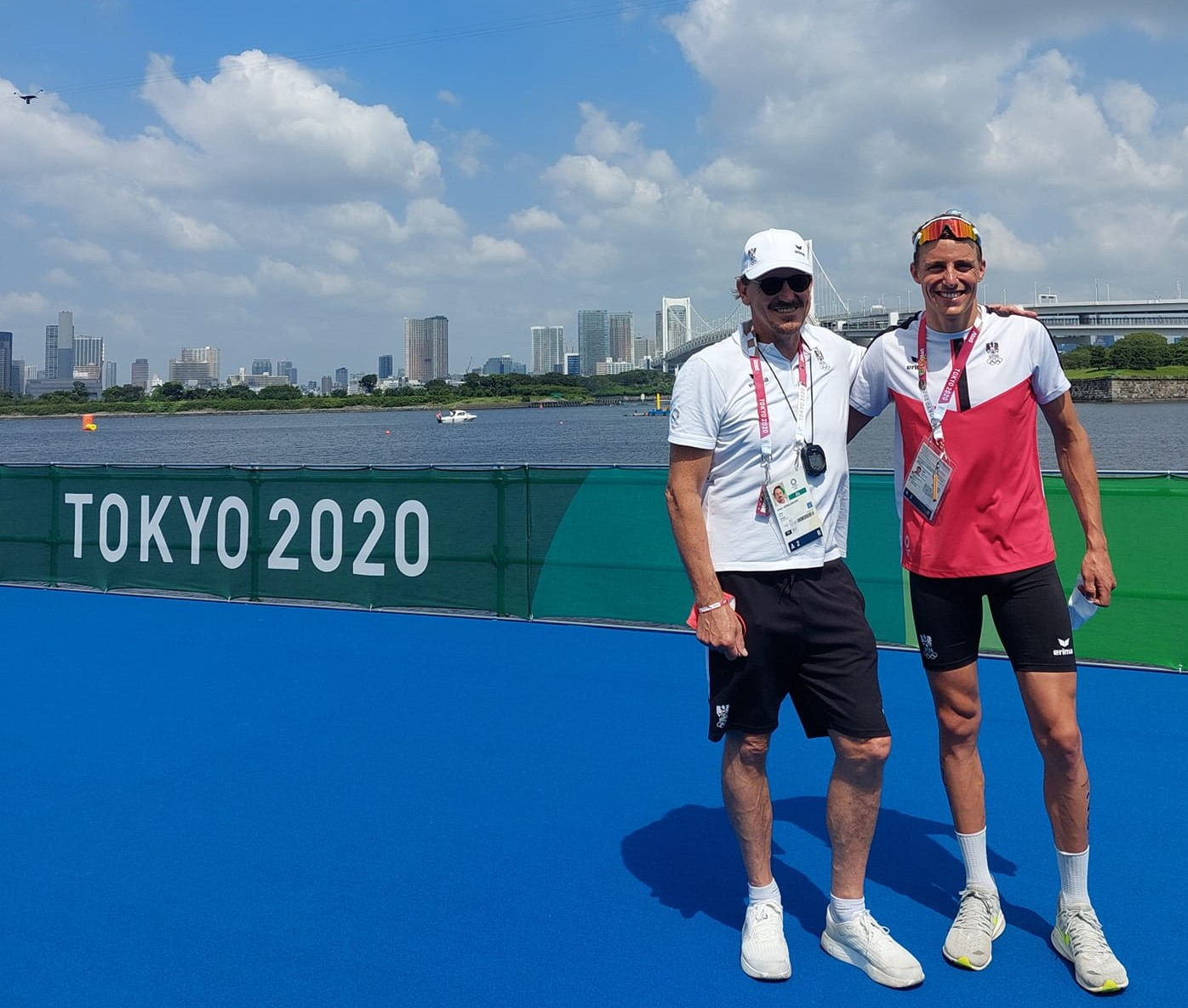 Lukas Hollaus - Triathlon Tokyo 2020