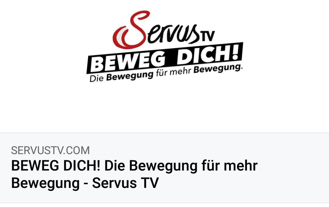 BEWEG DICH - SERVUS TV