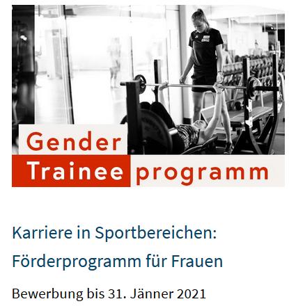 Gender Traineeprogramm - Bundesministerium