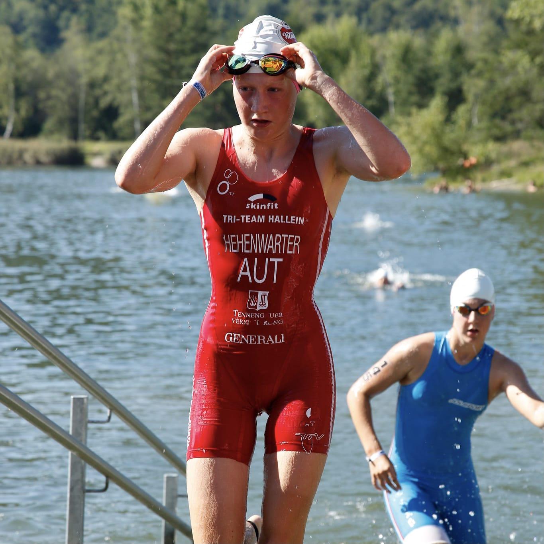 Qualifikation Linda  Hehenwarter für die  Junioren Europameisterschaften in Kitzbühel
