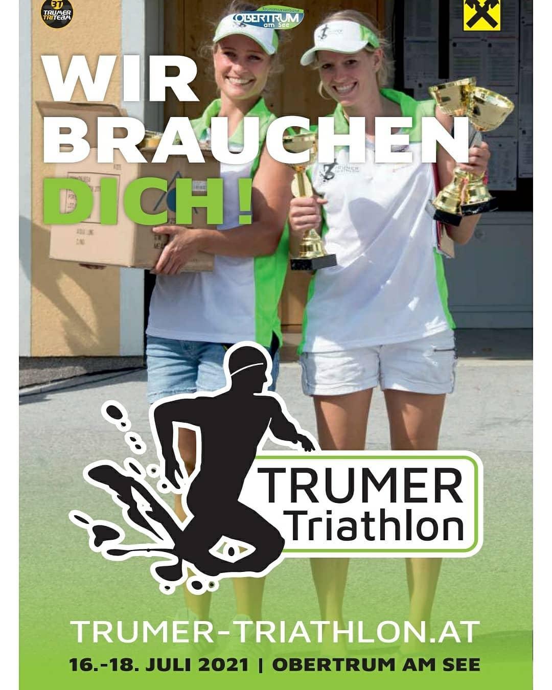 Helfer gesucht - Trumer Triathlon 16.07.-18.07.2021