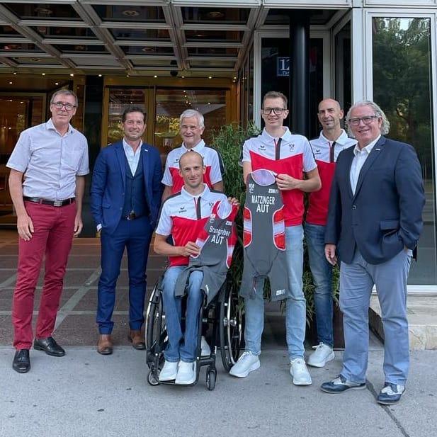Einkleidung & Vereidigung Paralympics Tokyo 2020