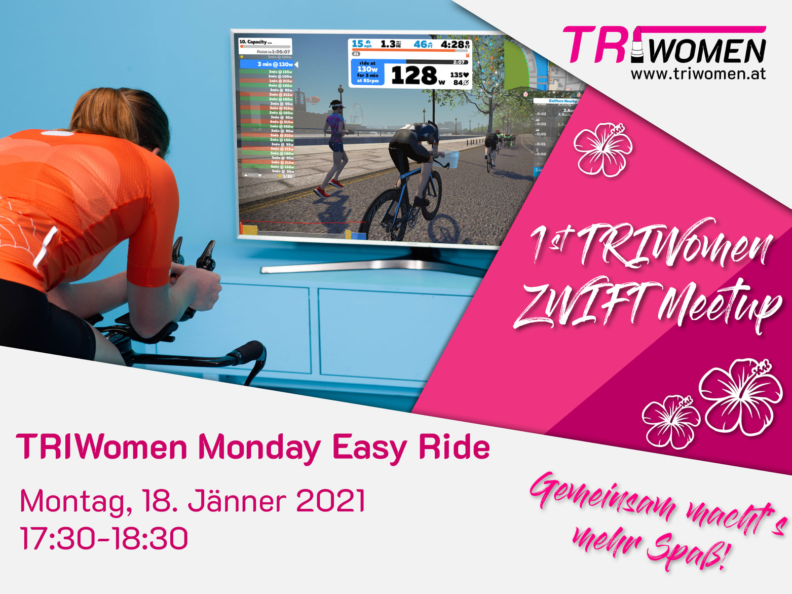 TRIWoman Monday Easy Ride