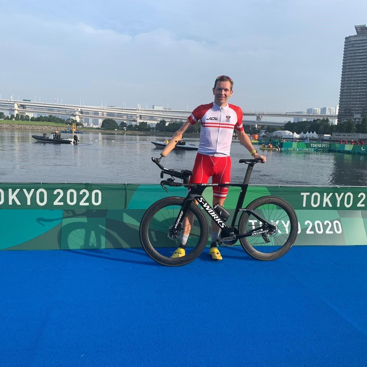 Medieninfo - Paralympics: Matzinger im Triathlon auf Platz neun