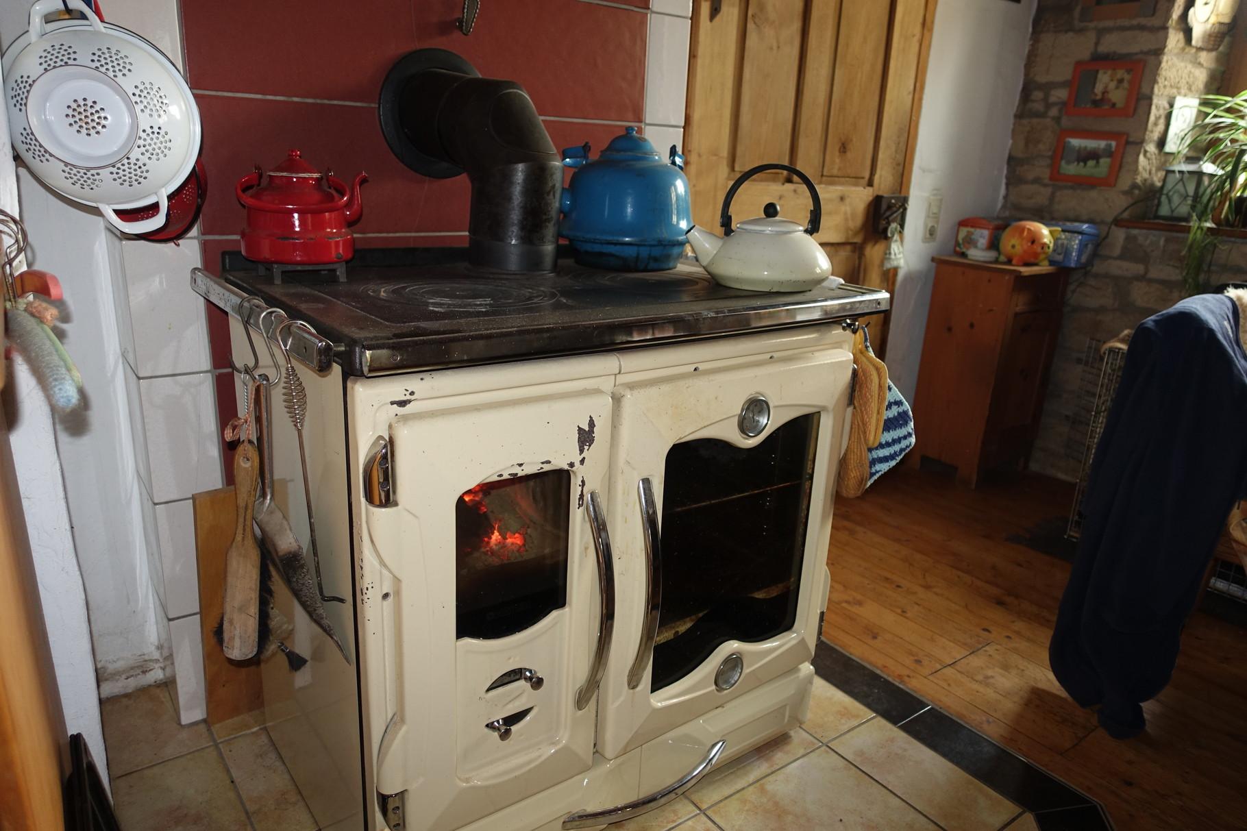 Kochherd in der Küche