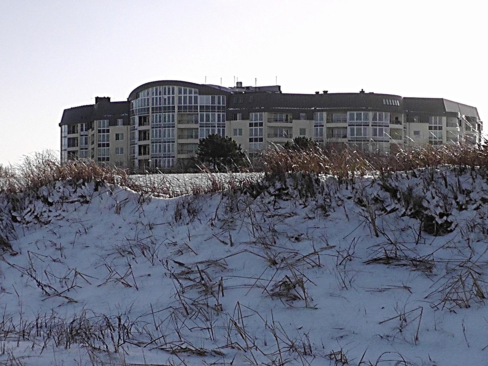 Die Kurpark-Residenz im Winter