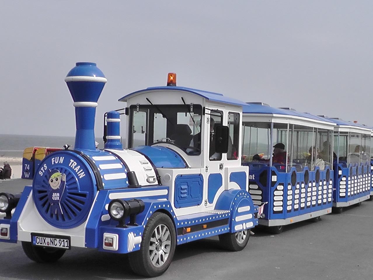 Die Jan-Cux-Bahn am Strand