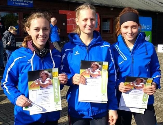 Rheinland Berglaufmeisterterinnen Mannschaft