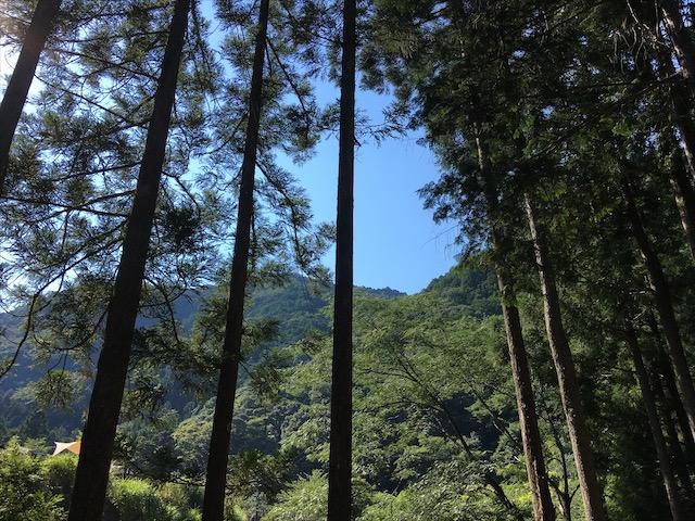 明ヶ島キャンプ場