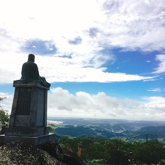 粟ヶ岳山頂