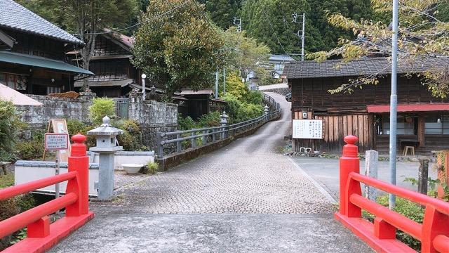 秋葉山登山道