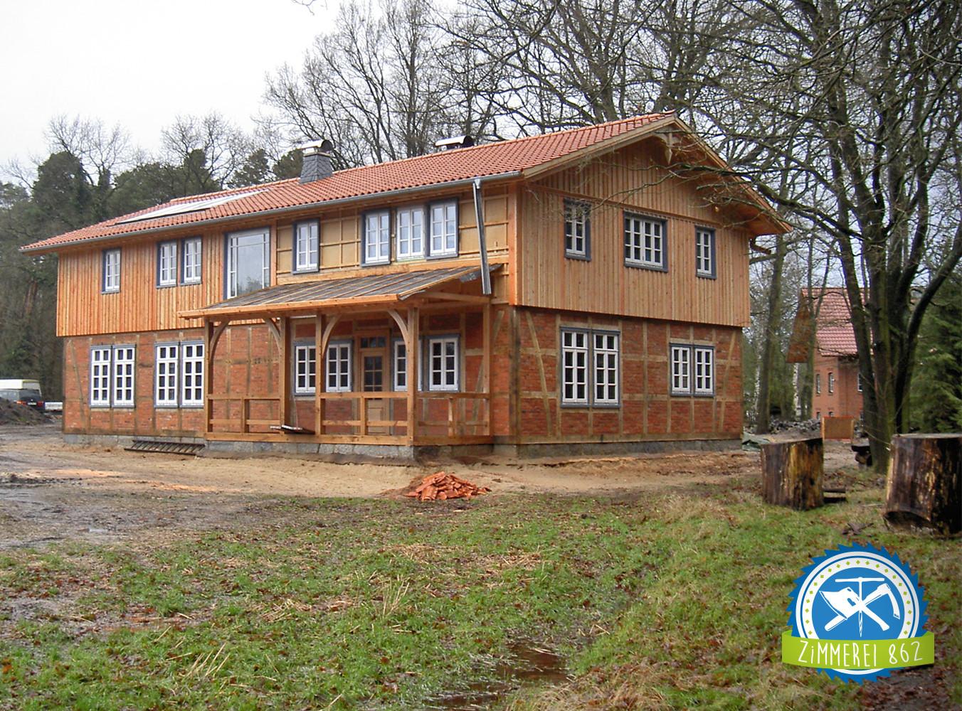 Neubau Fachwerk mit Holzrahmenbau, Celle, Müden/Örtze