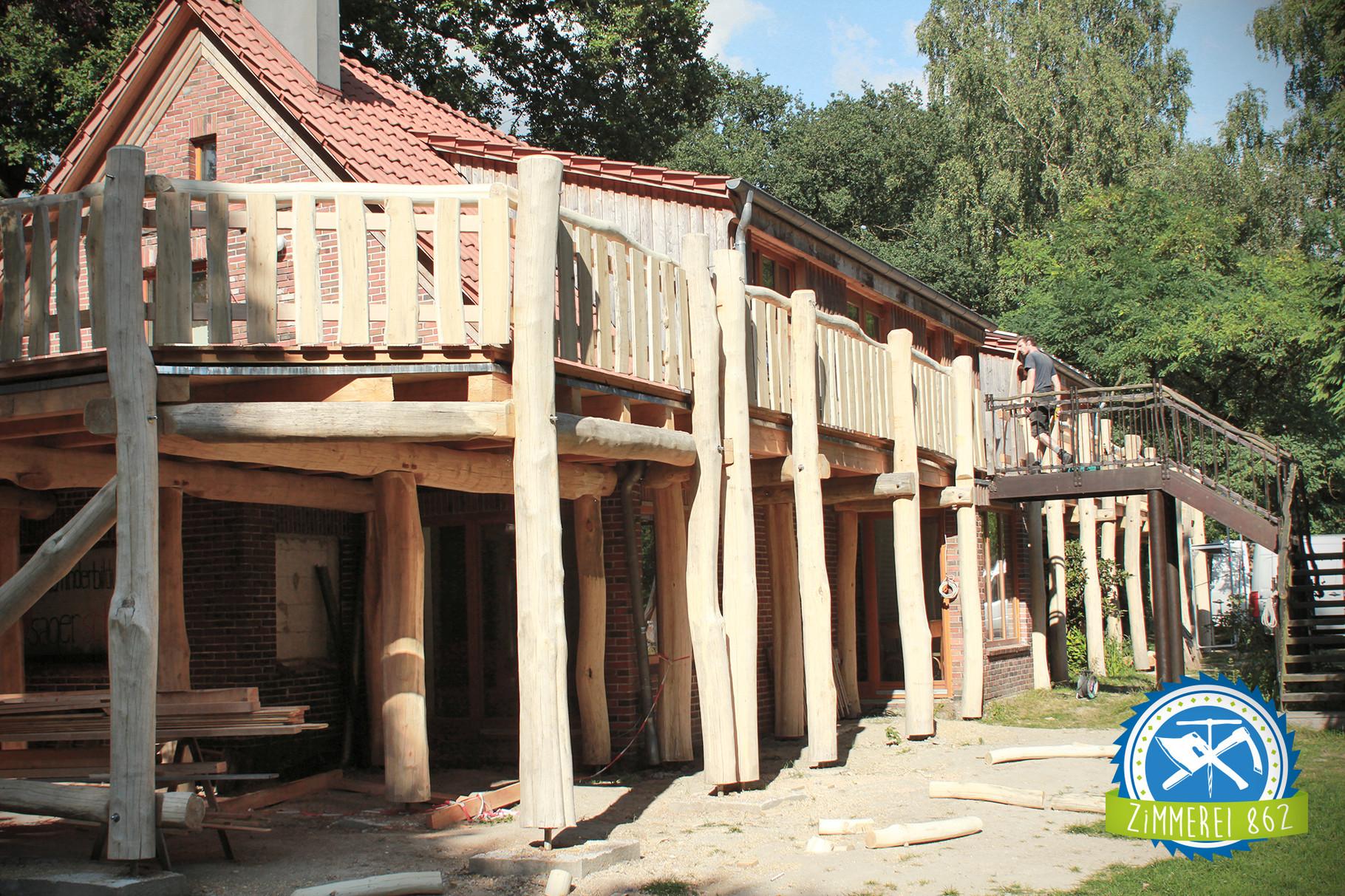 Terrassengang, Pfadfinderbildungsstätte, Sager Schweiz