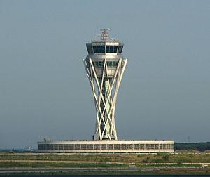 Torre de Control del Plan Barcelona del Aeropuerto de El Prat