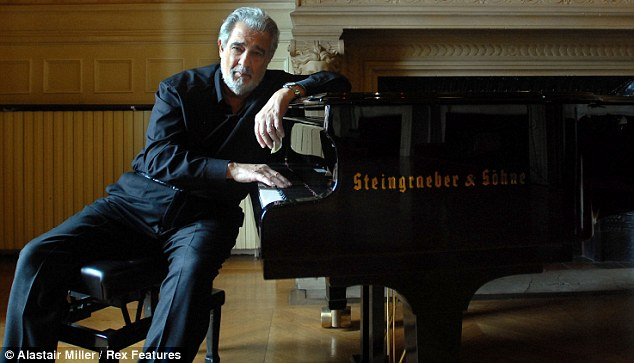 Plácido Domingo, pianista