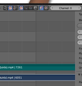 Foto 3: Para el Panel de Visualización nuestro vídeo está por defecto en la pista cero (Channel 0).